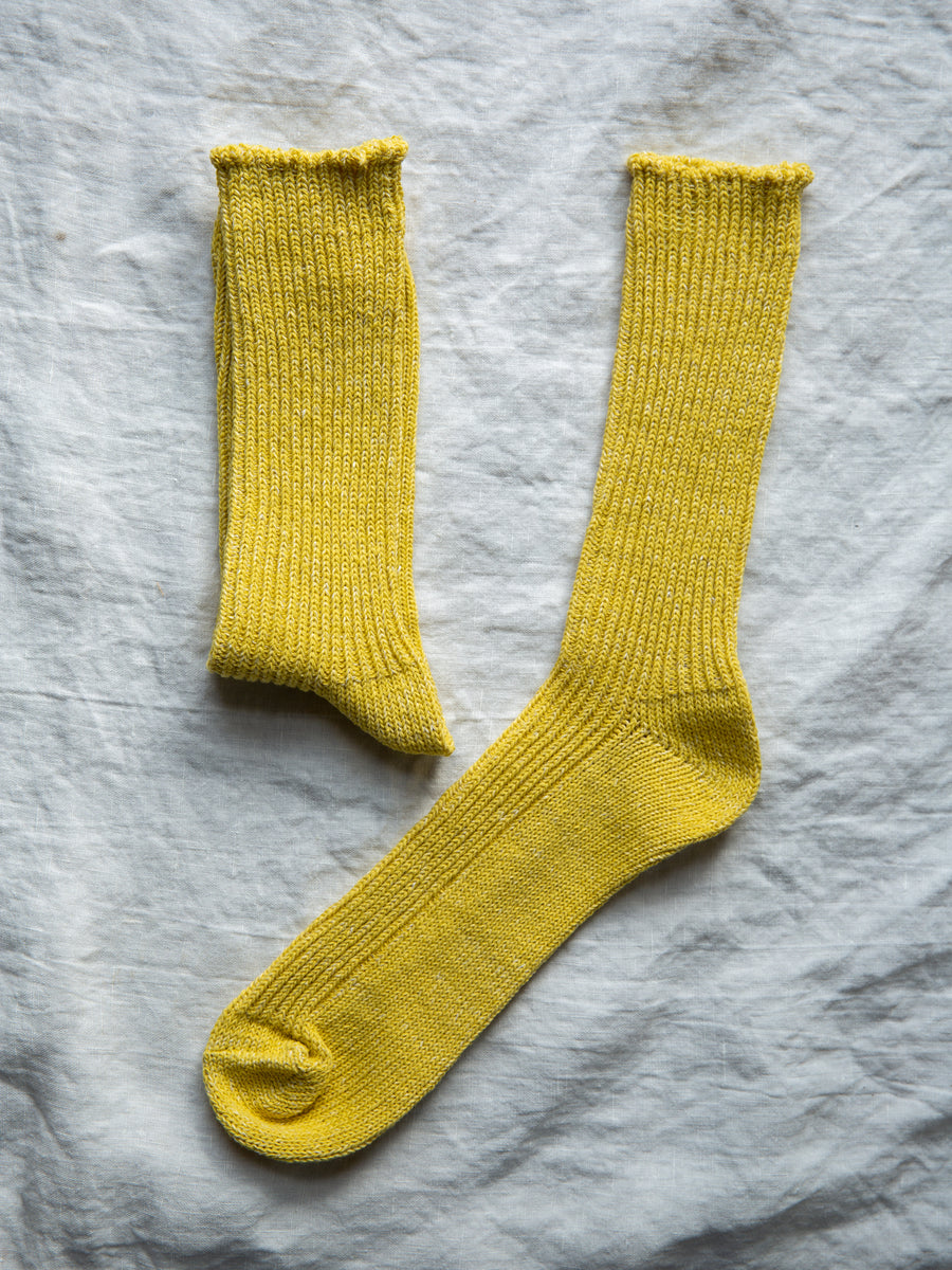 Japanese Wool Boston Hemp Cotton Socks