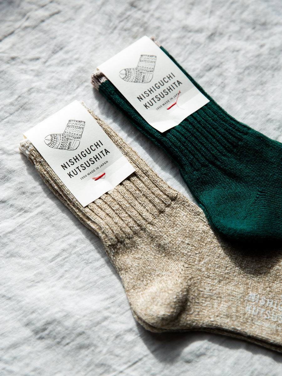 Japanese Boston Silk Cotton Socks
