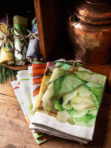 Italian Potager Tea Towels