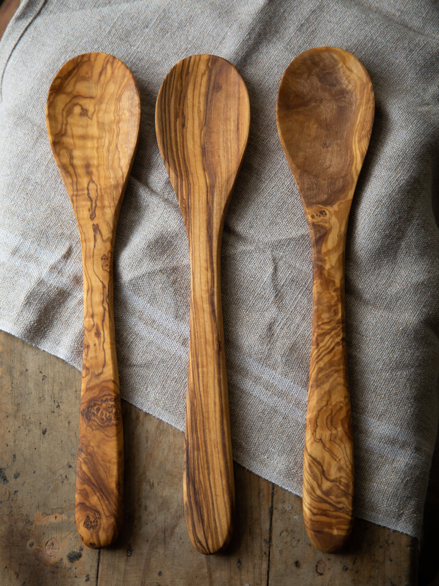 Large Olive Wood Spoons