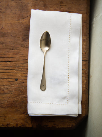 White European Linen Napkins