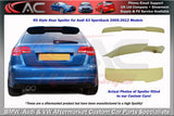 Audi A3 (RS3 Style) Boot Spoiler (2005-2012 Model)
