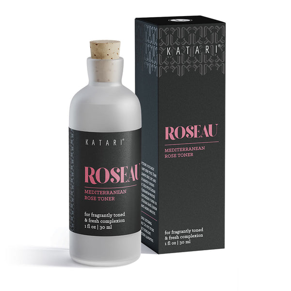 anti-bacterial toner to repair capillary damage, reduce rosacea, acne | 100% pure vapor-distilled rose hydrolat - Roseau - Katari Beauty