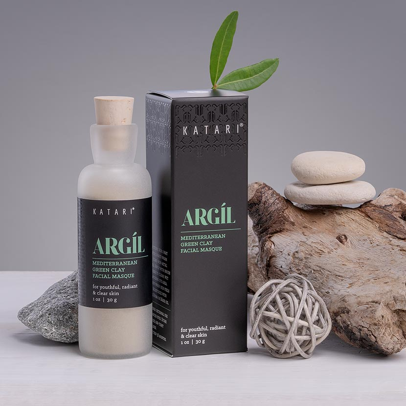 Rare Tunisian Green Clay Masque | 100% pure, hypoallergenic, deep cleansing - Argil