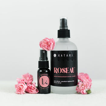 TONER - Roseau (RO-ZO) - Vapor Distilled Single Ingredient Rose Water - Katari Beauty