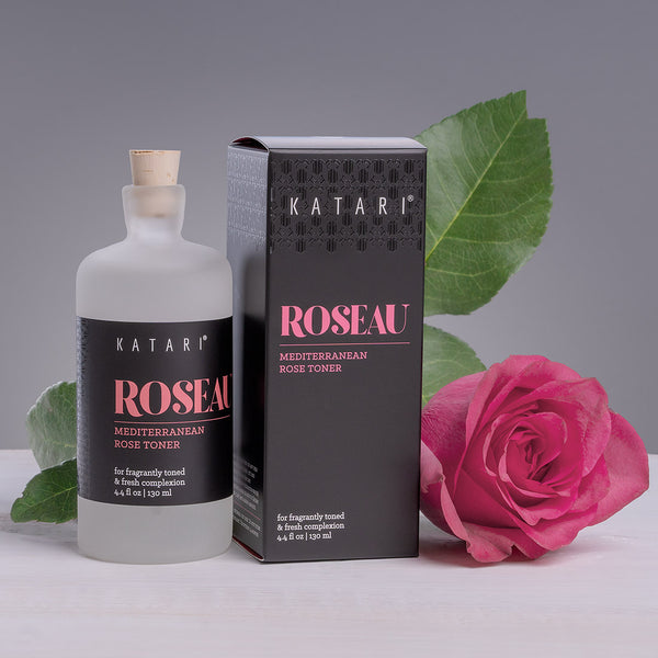 Rose Water Toner | 100% pure first distillation rose hydrosol w/rose essential oil - Roseau