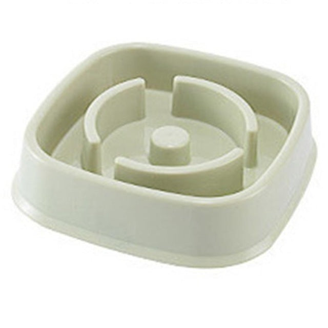Dog Anti-Gulping Slow Bowl Feeder