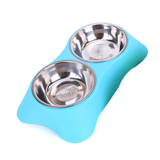 Stainless Steel Double Pet Bowls
