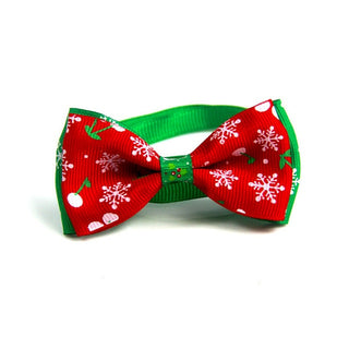 Holiday Cat or Dog Bow  Collar