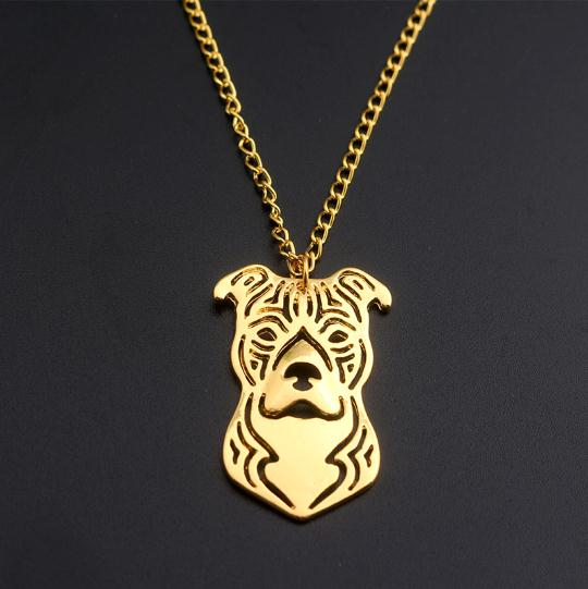 Pitbull Necklaces Pendants for Women and  Men