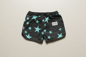 【Vintage Stocks】HYBRID SHORTS STARS (GRY×TRQ)  / KIDS