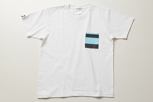 BLUER POCKET TEE(WHT)