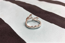 BLUER JEWELRY ring  WAVES 958 Britannia SILVER