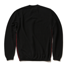 RED STITCH HIGH QUALITY KNIT(BLACK)