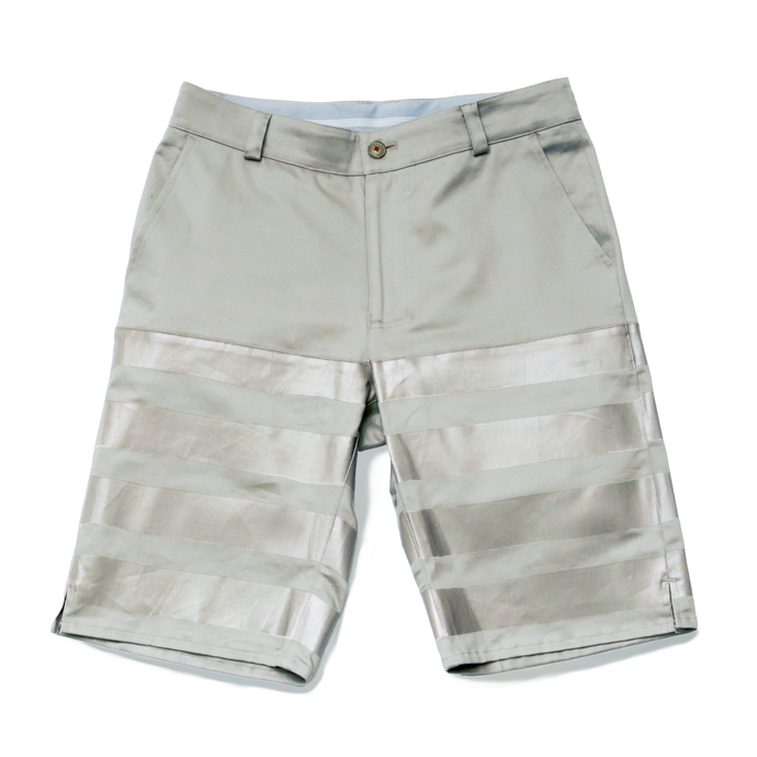 HALF-STRETCH SHORTS -MOON- (SLV×SLV)
