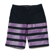HALF-STRETCH SHORTS -和- (NAV×PPL)