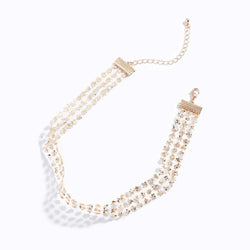 Gauze Paillette Necklace