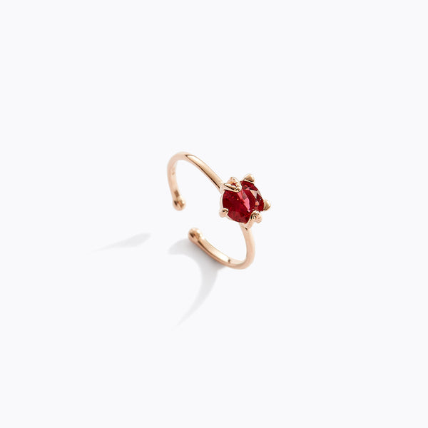 Ruby Kitty Ring