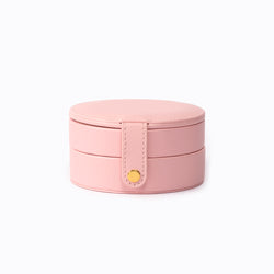 Double-Layer Round Jewelry Box