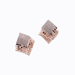 Bold Rhombus Earrings