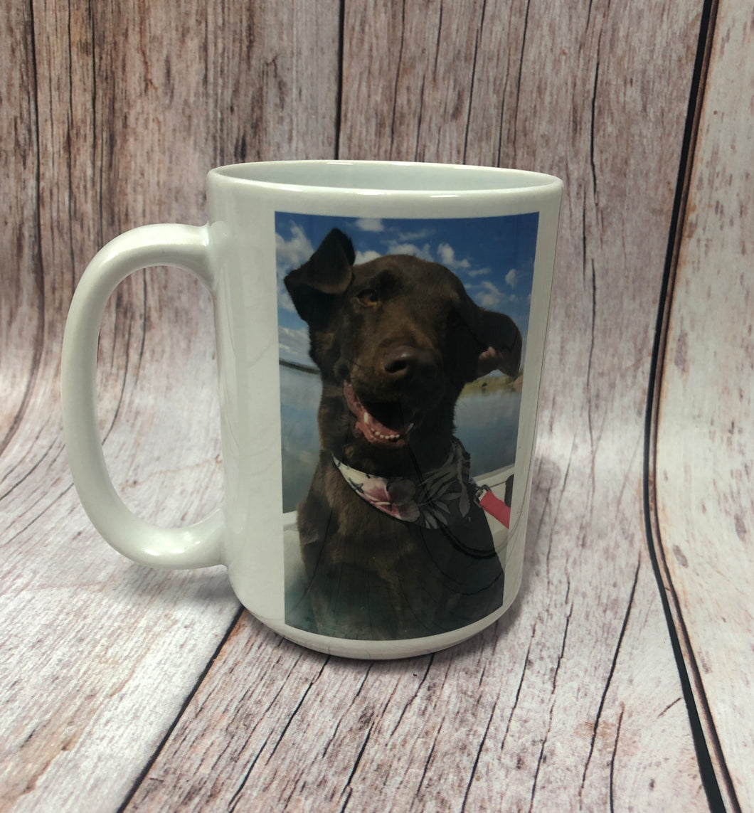 Custom Image/Logo 15 oz. Coffee Mug