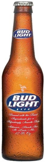 Bud Light Bottle Decal
