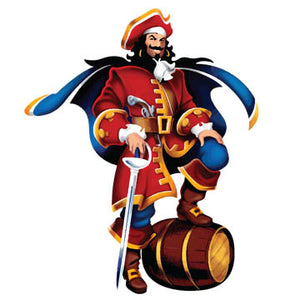 Captain Morgan Pirate Decal