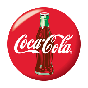 Coca Cola Round Logo Decal