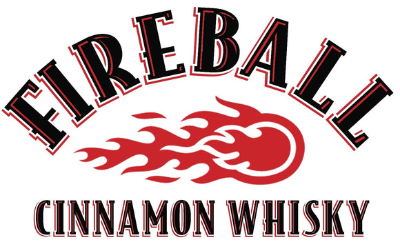 Fireball Whisky Logo Decal
