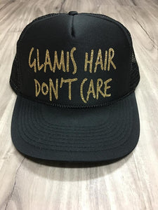 Glamis Hair Don't Care Trucker Hat
