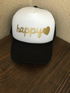 Happy Trucker Hat