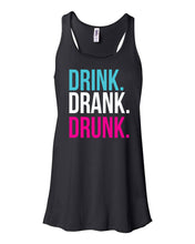 Load image into Gallery viewer, Drink Drank Drunk Flowy Tank Top Concert