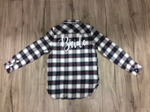 Bridal Flannels Plaid Flannel