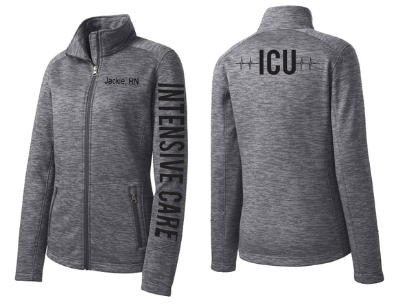 ICU Intensive Care Unit Jacket ICU Nurse Jacket