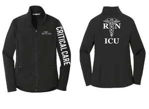 ICU RN Nurse Caduceus Jacket L904