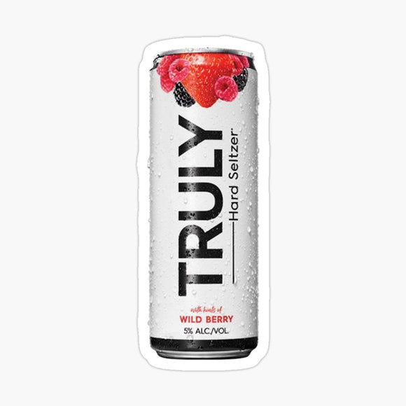 Truly Wild Berry Hard Seltzer Decal