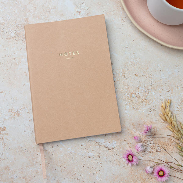 A5 Tan Notebook