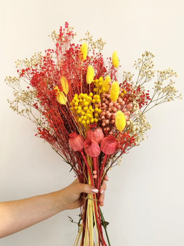 The 'Tutti Frutti' Dried Flower arrangement