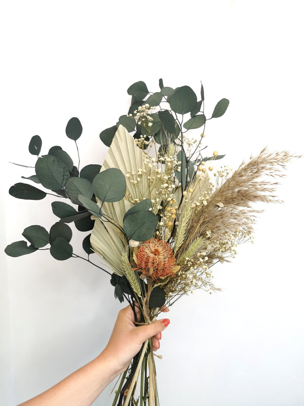 The 'Mojito Garden' Dried Flower arrangement.