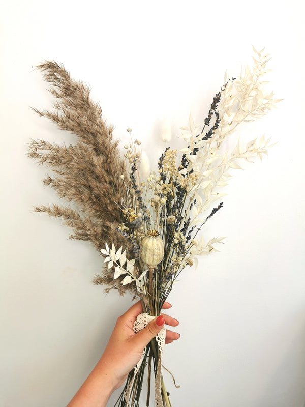 The 'Wild Whisper' Dried Flower arrangement.