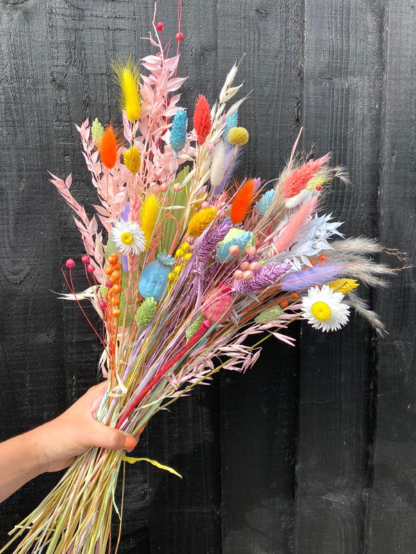 The Rainbow Dried Flower arrangement 🌈 (Edition 2)