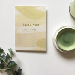 'Thank You Ever So Much' Card