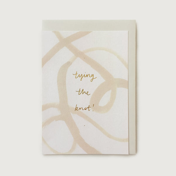 'Tying The Knot' Card