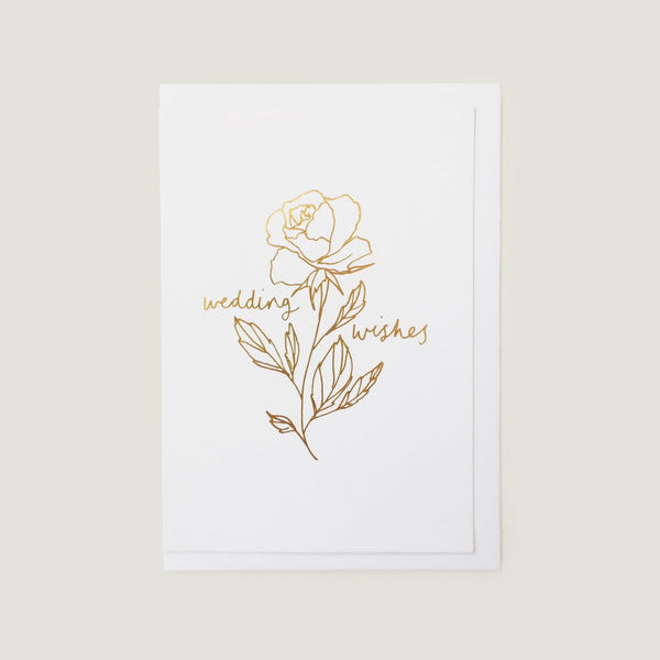 'Wedding Wishes' Card