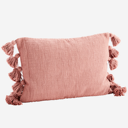 Rose Tassel Cushion  - COVER ONLY