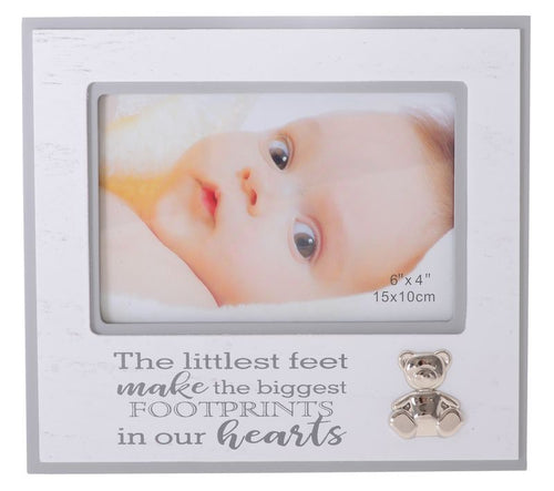 Silver Icon Baby Frame