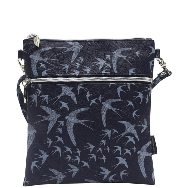Catherine Manuell Design Roma Tote - Navy Birds