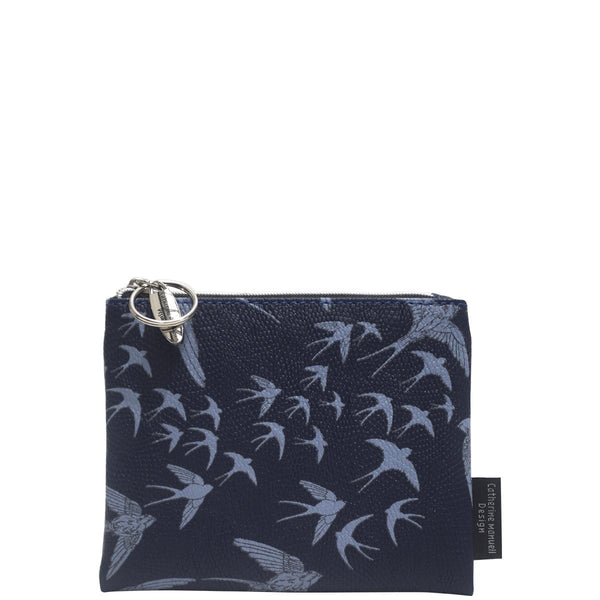 Catherine Manuell Design Everday Purse - Navy Birds