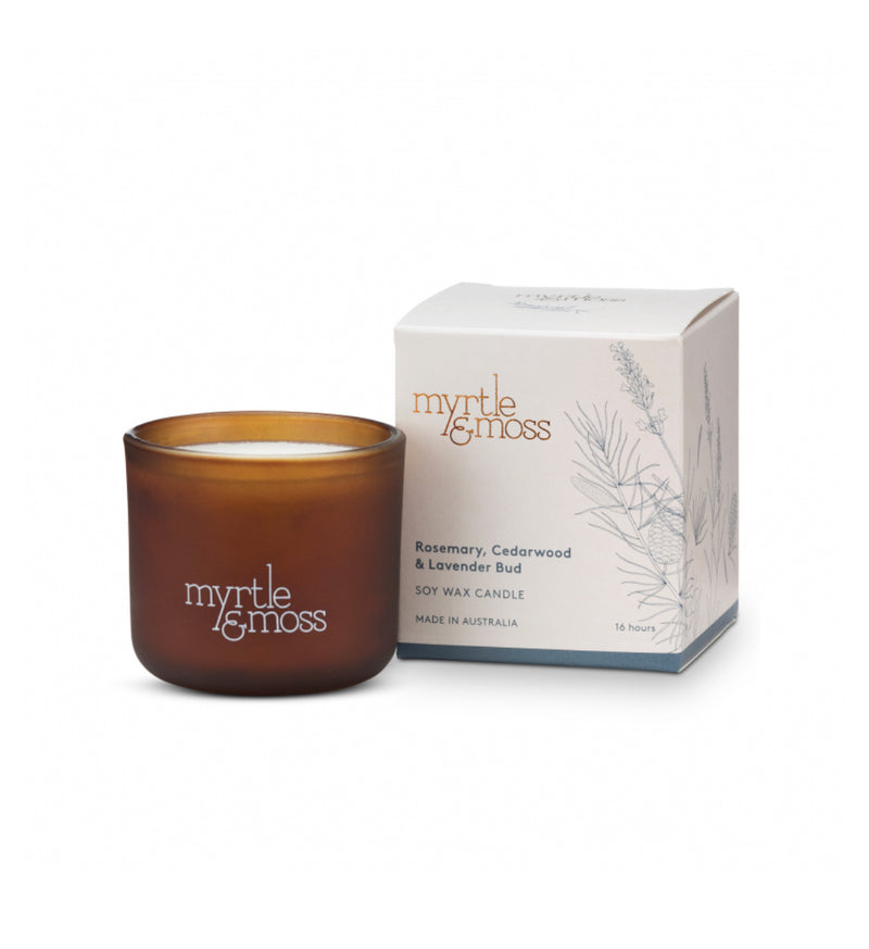 Myrtle & Moss mini candle