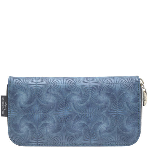 Catherine Manuell Curved Zip Section Wallet